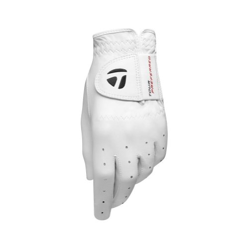 TaylorMade 2013 Men's TP Tour Preferred Leather Golf Glove - White - LH Large
