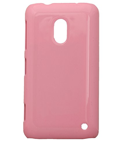 iCandy™ Colourful Glossy Hard Back Cover For Nokia Lumia 620 - Pink  available at amazon for Rs.165