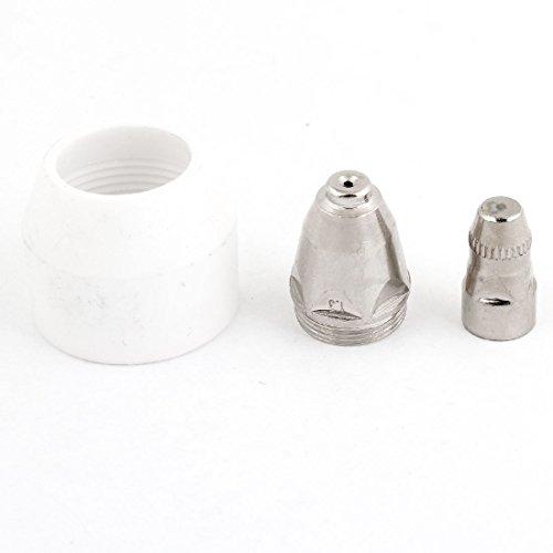 sourcingmap® P80 Plasmaschneider Teil Schneidelektrode Spitze Metall Düse Ersatzteil de