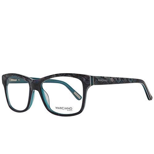 Guess Damen by Marciano Brille Gm0279 092 53 Brillengestelle, Blau,