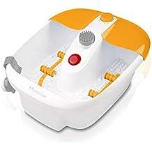 Medisana 88387 FS883 - Masajeador Bañera para Pies, 3 funciones (burbujas, vibración,