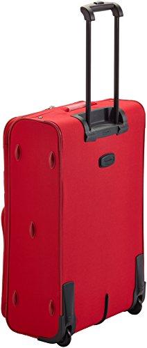 Travelite Koffer Orlando 2-Rad Trolley-Set 2 W L/M/S mit Flugbegleiter, 73 cm 193 Liters Rot 98480-10 -