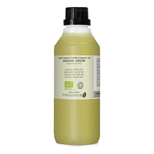 Naissance Argán Virgen BIO - Aceite Vegetal 100% Puro - Certificado Ecológico - 500ml