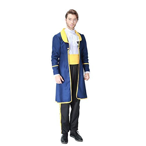 Fanessy Prinz Kostüm Herren Jungen Halloween Kostüm