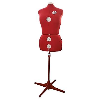 Singer DF150 - Maniquí de costura adjustable mediano, Tallas 36-44 de Singer