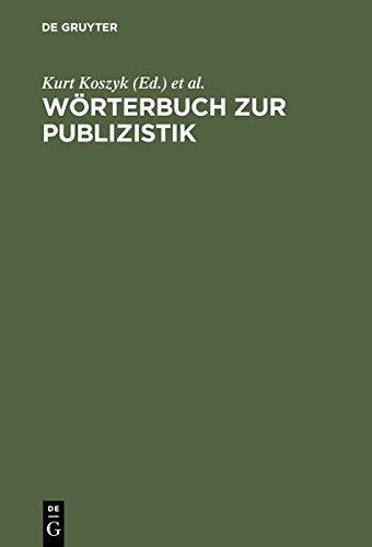 Wörterbuch zur Publizistik