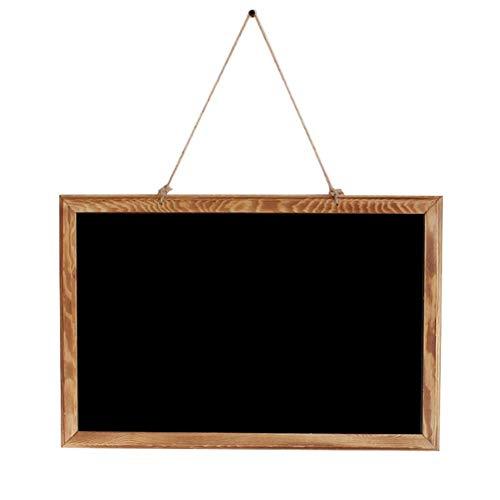 Q.AWB Message Board Signs Message Board Kreidetafeln Retro Rechteck Mini Liquid Chalk Mark Löschbare Menüleiste Küche Indoor/Outdoor (Farbe: A, Größe: 45X30CM)