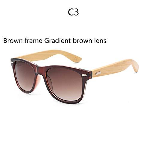 FGRYGF-eyewear2 Sport-Sonnenbrillen, Vintage Sonnenbrillen, Retro Wood Sunglasses Men Bamboo Sunglass Women Sport Goggles Gold Mirror Sun Glasses Shades Lunette Oculo