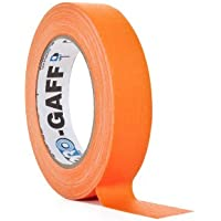 ProTapes/Permacel PROGAFF24NOR - Cinta adhesiva (24 mm x 23 m), color naranja