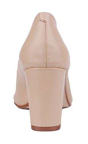 NIUERTE Wife, Bas femme Apricot Leather