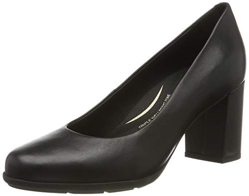 Geox D New ANNYA A, Zapatos de Tacón para Mujer, Negro Black C9997, 39 EU