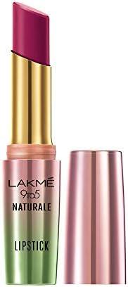 Lakme 9to5 Naturale Matte Lipstick, Sugar Plum, 3.6 g
