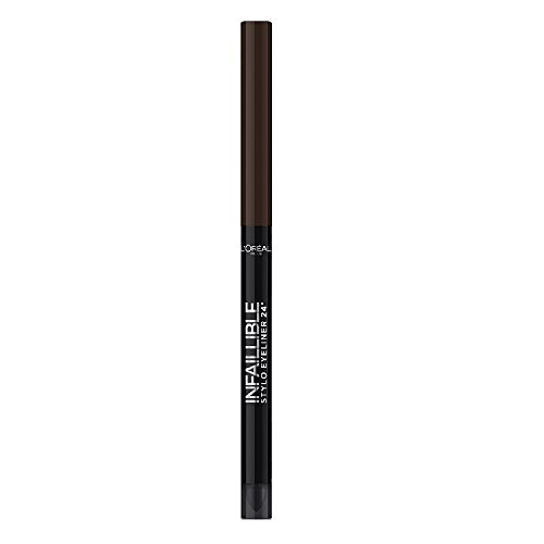 L'Oréal Makeup Designer Paris Infallible 24H Matita Occhi Waterproof, 300 Chocolate (Madri Occhi)