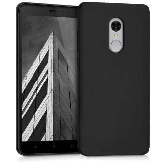 Tarkan Royal Ultra Slim Flexible Soft Back Case Cover for Xiaomi Redmi Note 4 (Matte Black) 360 Degree Coverage - Great Indian Sale Offer@99