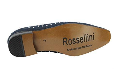 Rossellini , Mocassins homme Bleu