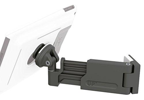 GISAN UP400Wandhalterung Teleskop für Tablet und Apple iPad, Schwarz