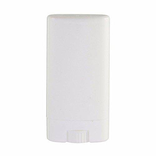 Furnido 10pcs 15G claro/blanco Desodorante contenedores