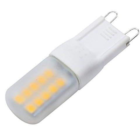 Haute qualité , G9 3W 20LED 2835SMD 200-300Lm Blanc chaud Blanc Cool LED Bi-Pin Lights Éclairage de 360 degrés AC 220-240V (1pcs) Fit Maison et cuisine ( Couleur : Blanc Neige )