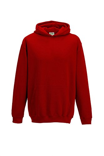 All we do is - Kinder Kapuzensweatshirt Hoodie Sweatshirt, rot, Gr.152 (Rote Pullover Mädchen)
