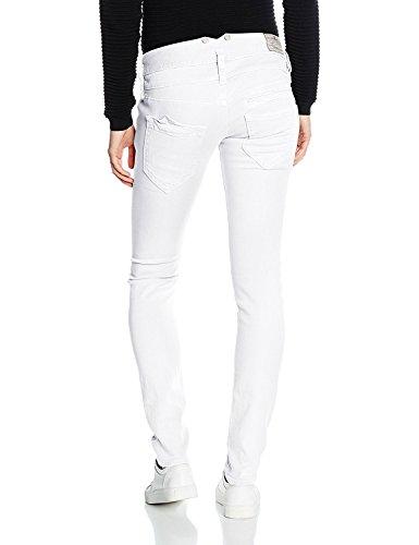Herrlicher Damen Hosen Pitch Stretch Weiß