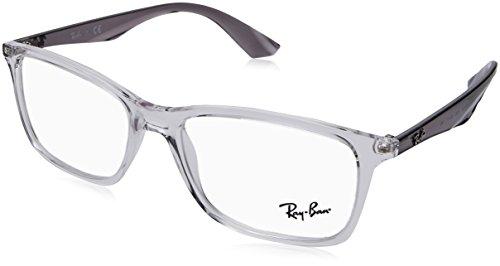 Ray-Ban Herren 0RX 7047 5768 56 Brillengestelle, Transparent,
