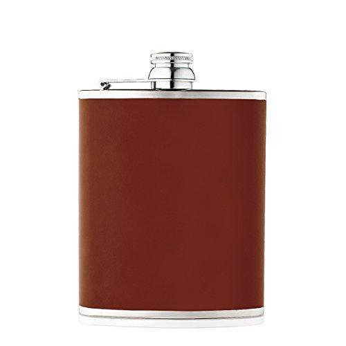 flasque-en-cuir-marron-clair