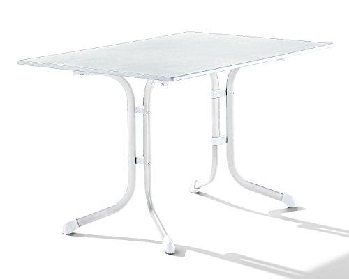 sieger-1160-40-puroplan-table-de-pliante-boulevard-metal-resine-blanc-120-x-80-x-73-cm