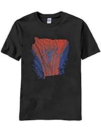 Mens officiel Marvel Spiderman T-shirt imprimé Top Taille S, M, L, XL