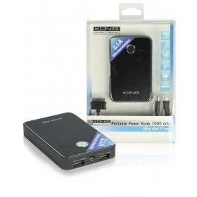 KOENIG portabler USB Notakku 7000 mAh Powerbank power bank notebook laptop smartphone inventory- tragbar mobil ersatzakku