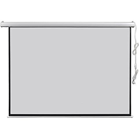 vidaXL Écran de projection motorisé 4:3 200 x 153 cm