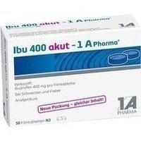 IBU 400 Akut 1A Pharma Filmtabletten preisvergleich