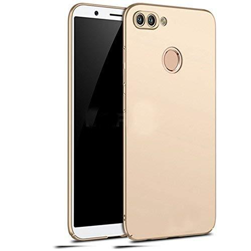 Huawei P smart Hülle, Stilvoller Ultradünne Handyhülle. GOGME Hart Schutz Schutzhülle Für Huawei P smart. Der Einfachste Und Effektivste Schutz Abdeckung Des Telefon. Gold Gold Telefon