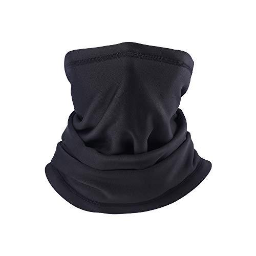 PRAVETTE Halswärmer,Kälteschutz Gesichtsmaske,100{fcacc4a148249adeee86d7eaede6fe74ea857f49c6d34a798b39f0bf2b994d41} Fleece Multifunktionstuch Halswärmer Motorradmaske Skimaske Mütze für Damen und Herren