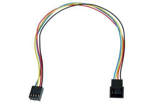 Phobya 4Pin PWM Verlängerung 30cm Kabel Lüfterkabel und Adapter -