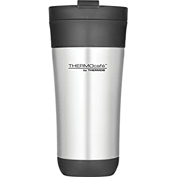 Thermos Thermocaf 233 Flip Lid Stainless Steel Travel Tumbler