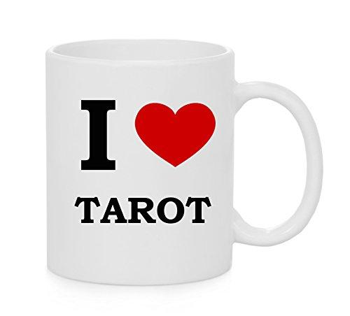 I taza del corazón Tarot (Amor)