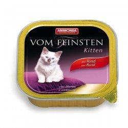 Animonda vom Feinsten Kitten Rind 100 g , Futter, Tierfutter, Nassfutter für Katzen