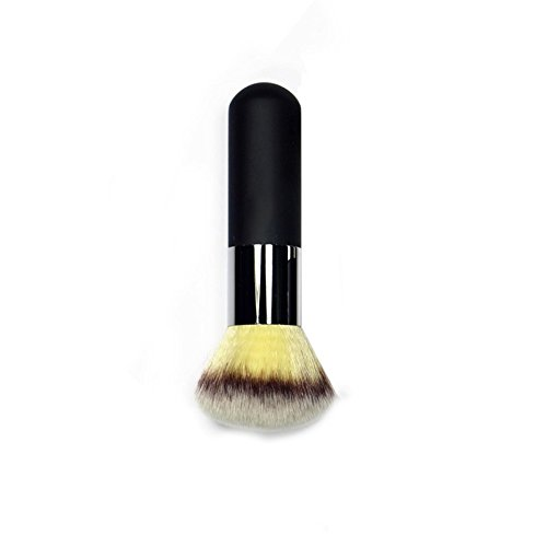 Neverland Grand Maquillage Tete Ronde Buffer Fondation Blush Poudre Brosses Noir