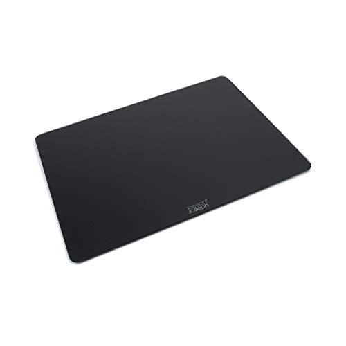 Joseph Joseph Planche/Dessous de Plat, Verre, Noir, 40 x 30 x 0,7 cm