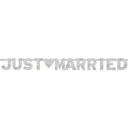 Banner Just Married, groß ()
