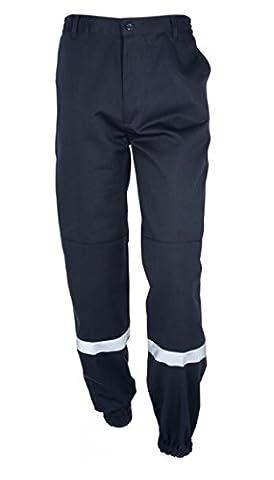 Pantalon Sécurité Incendie Spf1 - Polycoton - Bleu marine -