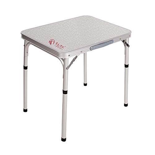 Table pliante Ordinateur de bureau Stalle extérieure simple Alliage d