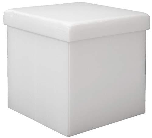 DuneDesign Puf 38cm Escabel cajón Contiene 42L Banqueta