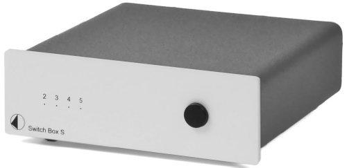 Pro-Ject Switch Box S Umschaltpult für 4Eingänge, Silber