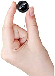 WiFi Mini Hidden Camera,HD 1080P Spy Camera Nanny Covert Camera for Motion Detection,Infrared Night Vision,Aut