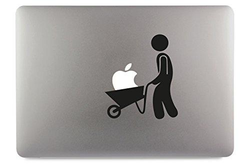 "Preisvergleich Produktbild Sackkarre Apple MacBook Air Pro Aufkleber Skin Decal Sticker Vinyl (17"")"