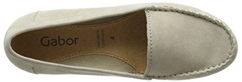 Gabor Columbia, Mocassins (loafers) femme Beige (Stone Used Nubuck)