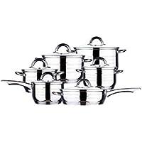 Blaumann Batería de cocina 12 Piezas Jumbo Gourmet Line