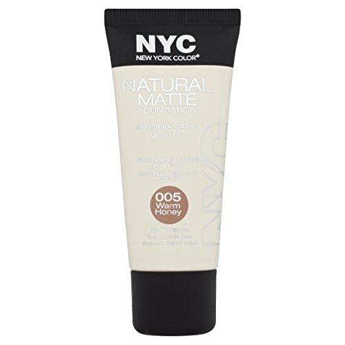 nyc-natural-matte-foundation-warm-honey