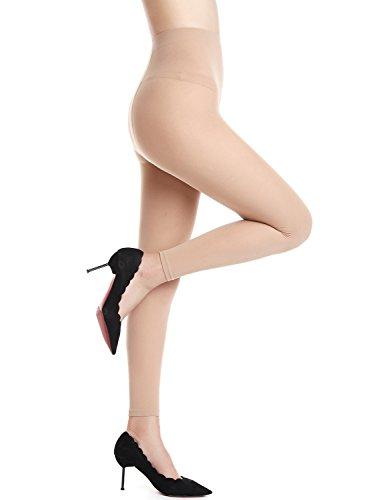 AMORETU Femmes Collant Legging minceur Opaque sculptant gainant